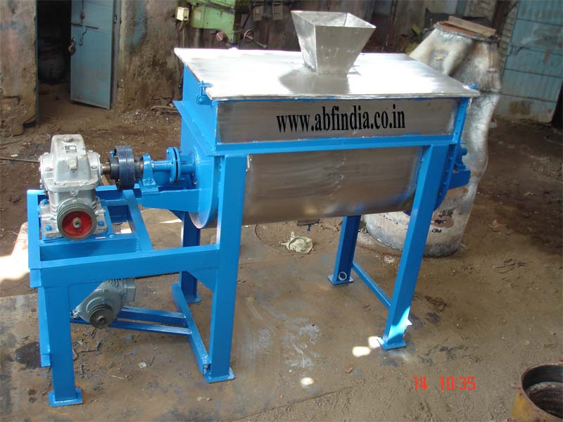 Powder Mixer, Ribbon Blender